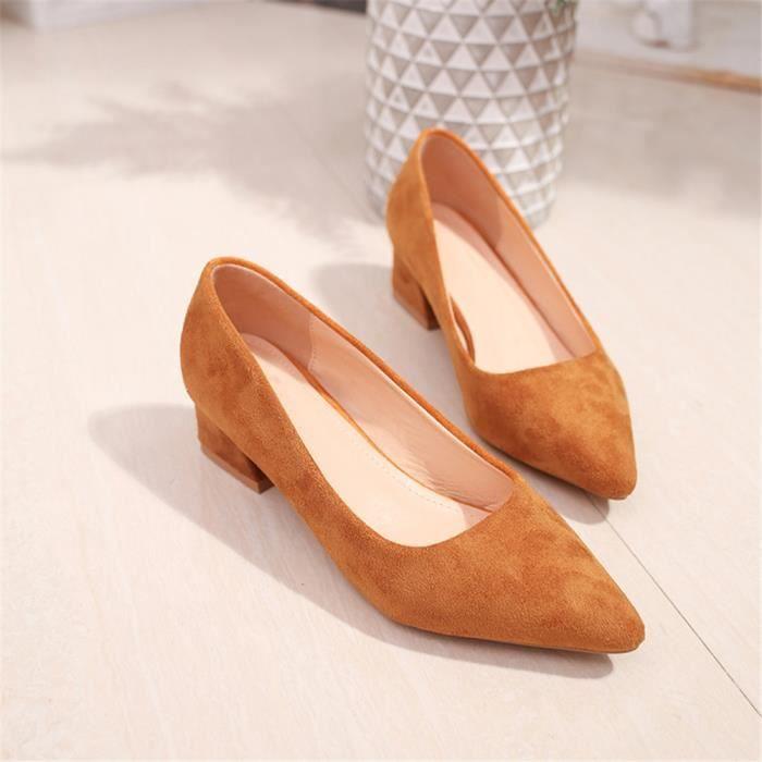 Extravagant Escarpin Classique Plus Femmes 33 Couleur Talons Chaussures Hauts Mode De 50 zdR8wF