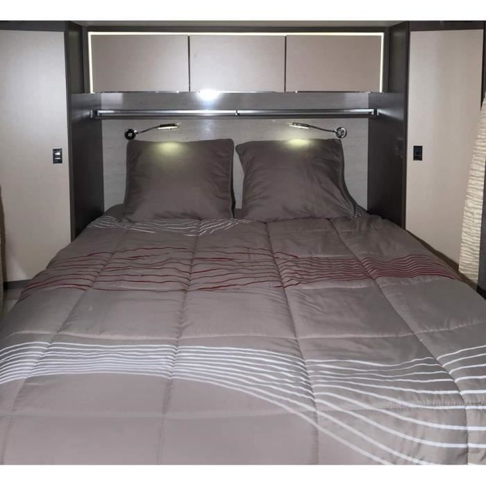 midland lit tout fait 120 130x190 cm linge de lit camping car achat vente pack linge de. Black Bedroom Furniture Sets. Home Design Ideas