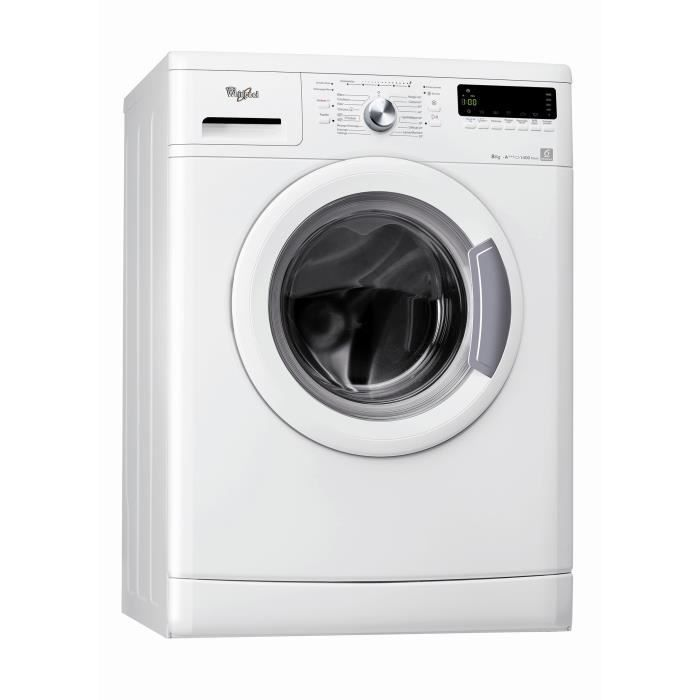 whirlpool awod4836 frontal 8kg 1400 tours a achat
