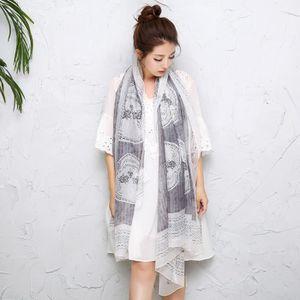 ... ECHARPE - FOULARD Écharpe le nouveau foulard imprimé femme longue se ... 536e08099ff