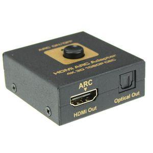 CÂBLE TV - VIDÉO - SON Adaptateur HDMI ARC Convertisseur audio HDMI et op