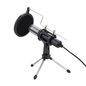 MICROPHONE Microphone à condensateur avec connecteur trépied