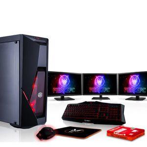UNITÉ CENTRALE  Fierce PYTHON PC Gamer de Bureau - Intel Core i5 8