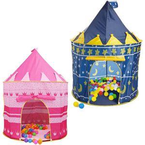 TENTE TUNNEL D'ACTIVITÉ CUBBY Tente pour enfant en forme de château