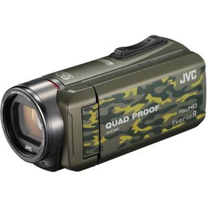 CAMÉSCOPE NUMÉRIQUE Camescope JVC Quad Proof GZ-R415 camouflage