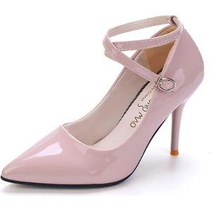 ESCARPIN Escarpins Femme Vernis Chaussures de Soirée Talons