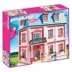MAISON POUPÉE Playmobil Rose Maison poupées romantique