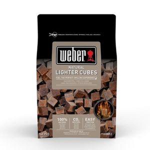 USTENSILE WEBER Cubes allume-feux - Boite de 48 cubes (box d
