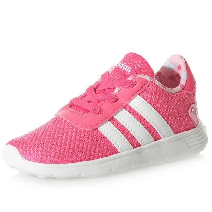 Chaussures  Lite Racer Infinity Rose Bébé Fille Adidas Rose Rose
