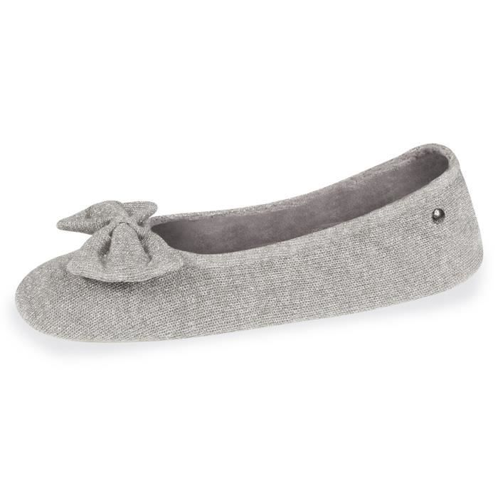 146f507cae7a2 Chaussons femme grand nud - Gris.clair - 97147-BHX-CFG Gris Gris ...