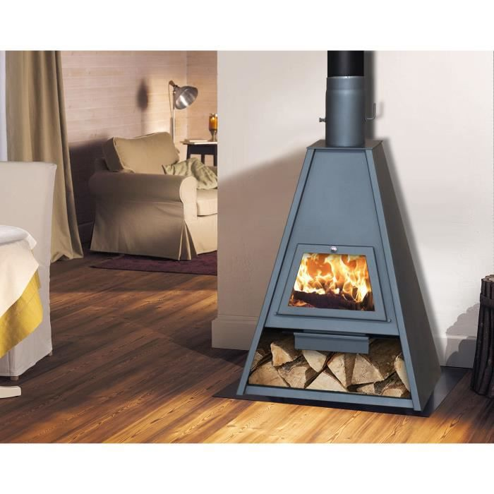 po le bois delta k 16 kw 21 kw design pyramide. Black Bedroom Furniture Sets. Home Design Ideas