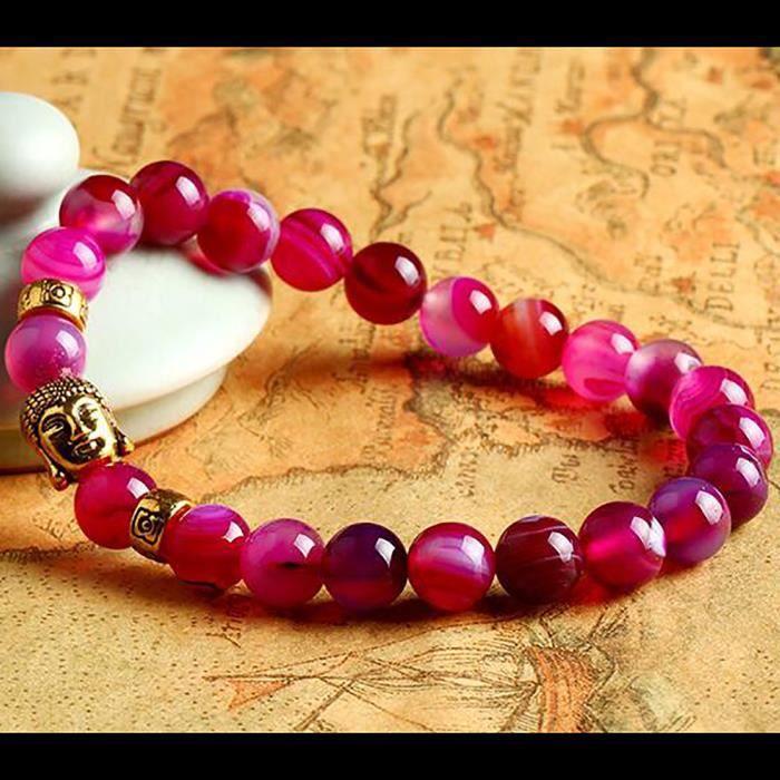 bracelet perle de couleur