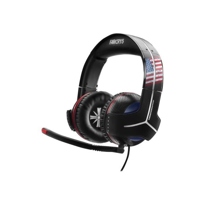 Thrustmaster Y-300cpx Far Cry 5 Edition Casque Pleine Taille Filaire Jack 3,5mm Isolation Acoustique