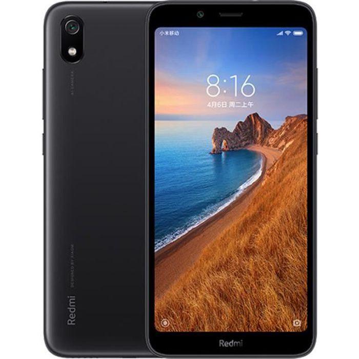 Téléphone portable Xiaomi Redmi 7A 2Go 16Go Noir Télephone portable 5