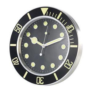 horloge murale sport achat vente horloge murale sport pas cher cdiscount. Black Bedroom Furniture Sets. Home Design Ideas