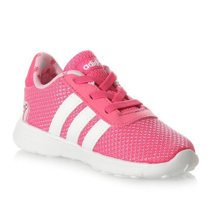 Chaussures Lite Racer Infinity Rose Bébé Fille Adidas