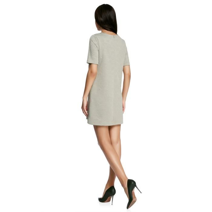 Womens Straight-fit Dress In Textured Fabric 2YK1TC Taille-32