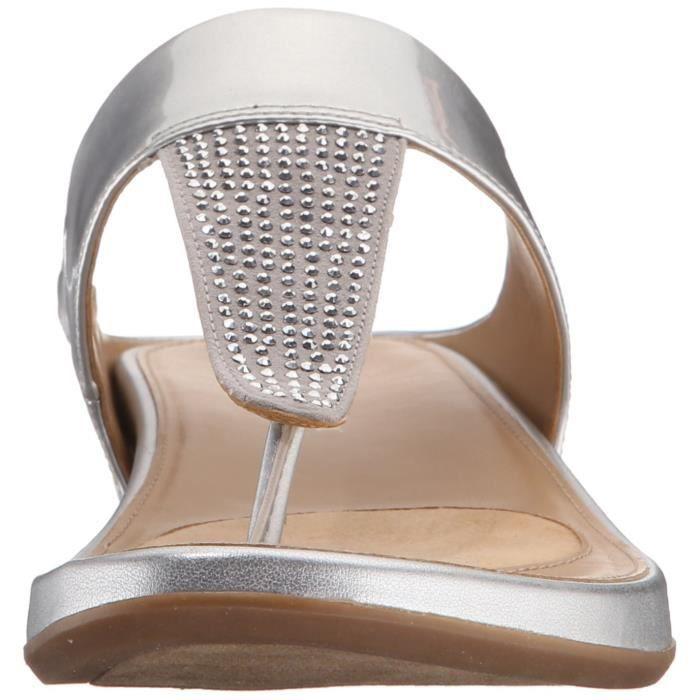 Naturalizer Sandale en coton à espadrille à note féminine HQ29N BxXci