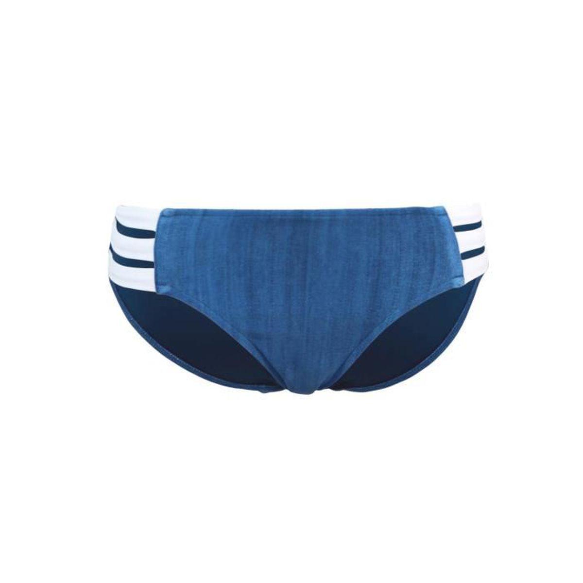 d59f109258 Party De Bain Bleue Culotte Multi Maillot Block Strap Bleu Nnm80vw