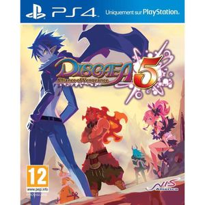 JEU PS4 Disgaea 5 : Alliance of Vengeance Edition Day One