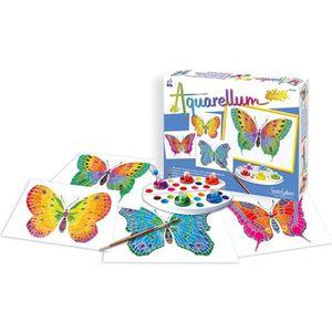SENTOSPHERE Aquarellum Junior Papillons