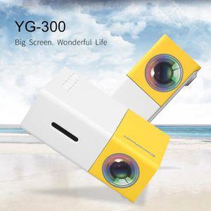 Lampe vidéoprojecteur Excelvan YG300 Mini Vidéoprojecteur 1080P Projecte