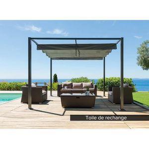 toile de rechange pour tonnelle 4x3 achat vente pas cher. Black Bedroom Furniture Sets. Home Design Ideas