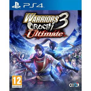 JEU PS4 Warriors Orochi 3 - ultimate