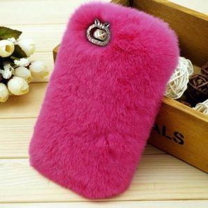 coque iphone 6 lapin fourrure