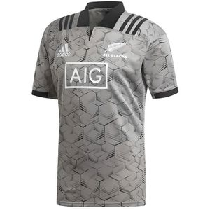MAILLOT DE RUGBY Maillot rugby All Blacks entrainement adulte 2018