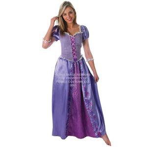 DÉGUISEMENT - PANOPLIE Officiel Mesdames Rapunzel Rubie, Costume Disney P