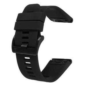BRACELET DE MONTRE Silicone Bracelet Sangle pour Garmin Fenix 5X Mont