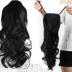 Postiche cheveux noir