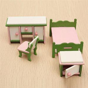 MAISON POUPÉE TEMPSA Set Miniature Mobilier Maison Poupée Chambr