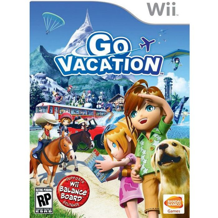 Go Travel Vacations: GO VACATION / Jeu Console Wii