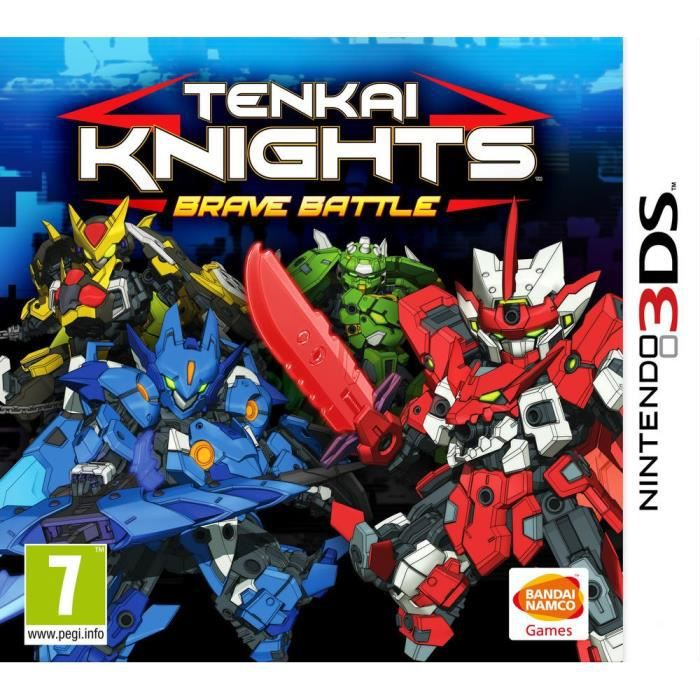 Tenkai Knights : Brave Battle Jeu 3DS