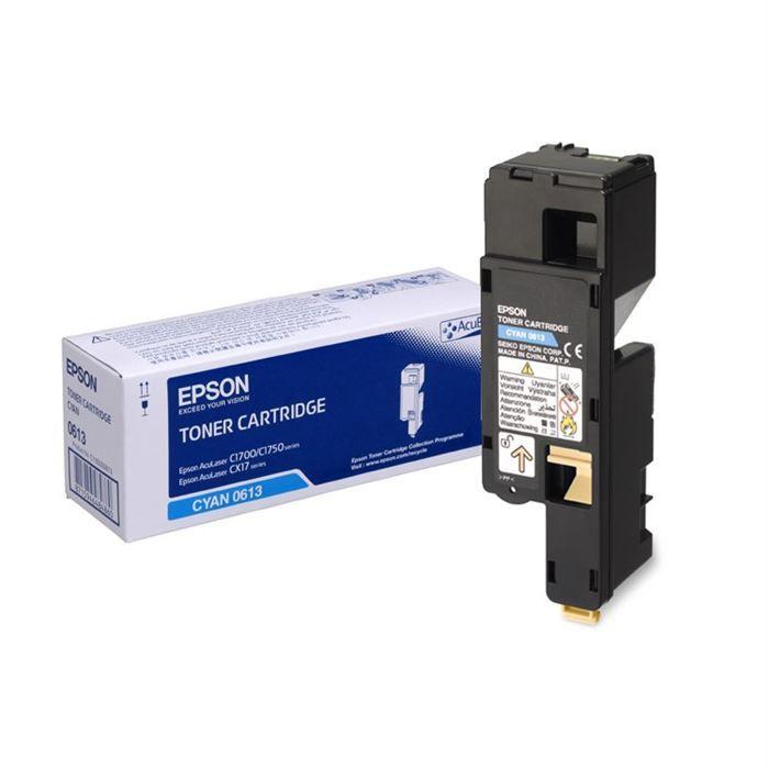 EPSON Pack de 1 Toner AL-C1700 - Cyan - Haute capacité