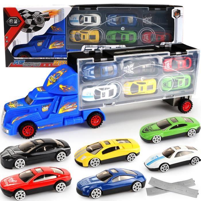 Pcs Petit Set Modèle 1pcs Moule Garçons Jouet Caravan® Camion Voiture Enfants Transport6 4RjqSALc35
