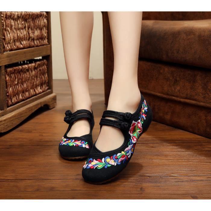Femme des chaussures de danse Pente avec, chaus...