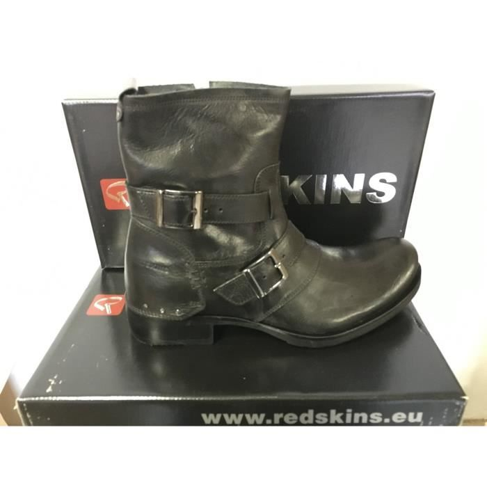 Hommes 39 Chaussures Noir 44 Jarry 42 Redskins 41 43 Pointure 45 OrrWcdgy