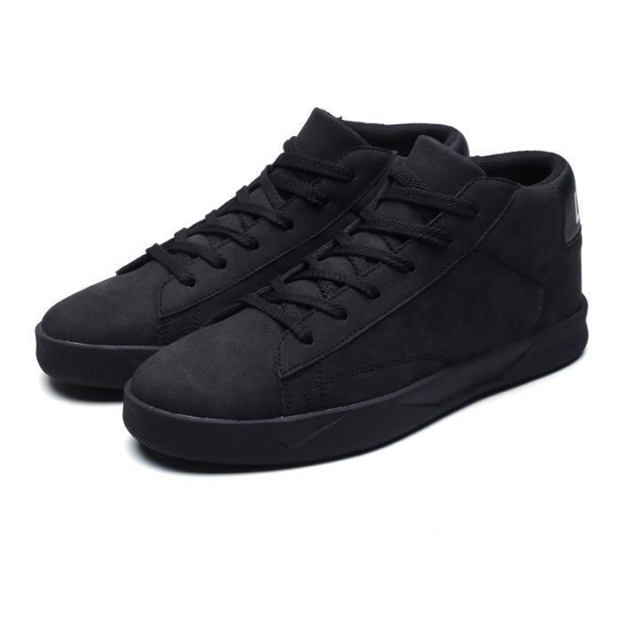 KIANII® Basket Homme Maille Respirante Chaussures de Course Noir 1iaCQrk