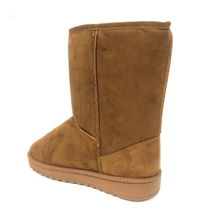 Boots, Bottines Nice Shoes Boots Camel HF-12