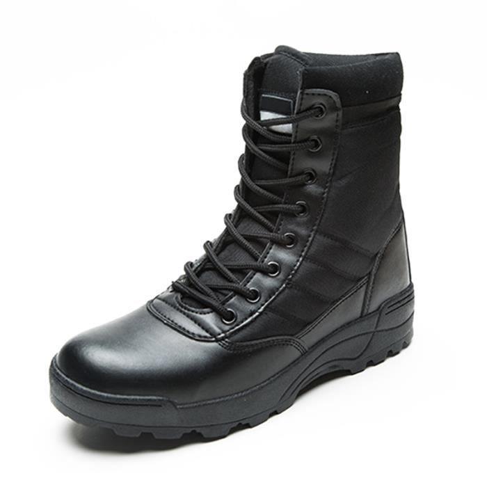 Bottine Femmes Comfortable Antidérapant boots BLLT-XZ090Noir41
