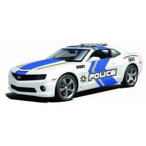 Maisto Voiture de collection 1/18 Chevrolet camaro ss rs police 2010