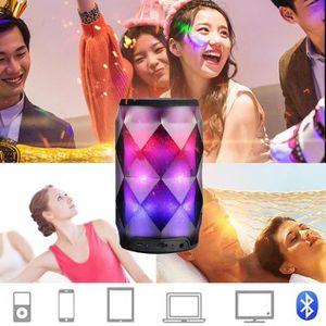 ENCEINTES ORDINATEUR Haut-parleurs portatifs LED colorée haut-parleurs