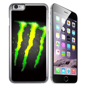 CASQUETTE Coque pour iPhone 7 monster energy logo glow