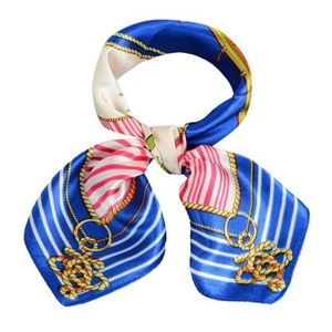 ECHARPE - FOULARD Écharpe Femmes imprimant un foulard carré Bleu-202