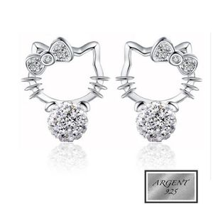 8f16626f63 Boucle d'oreille Bijoux Boucles d' Oreille Design Hello Kitty shamb