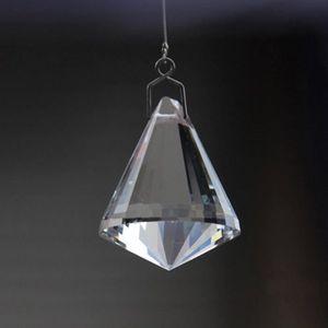 LANCE-RIDEAU Verre en cristal Pendentif Tassel rideau Panneau D