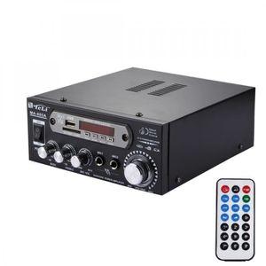 AMPLIFICATEUR HIFI Amplificateur Audio Stéréo avec Télécommande HiFi